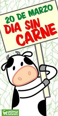 Actos programados para el Día sin Carne