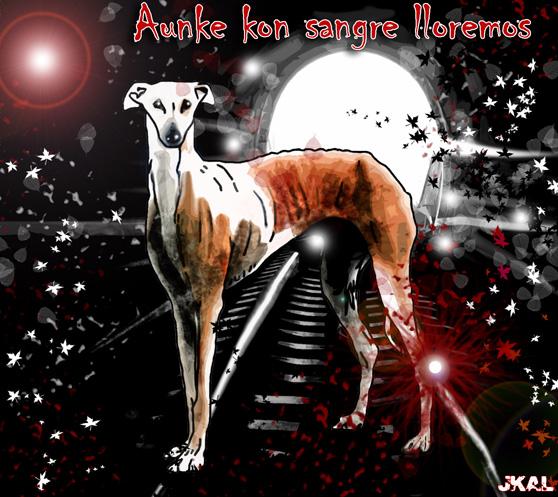 Aunke kon sangre lloremos, por Juan Kalvellido