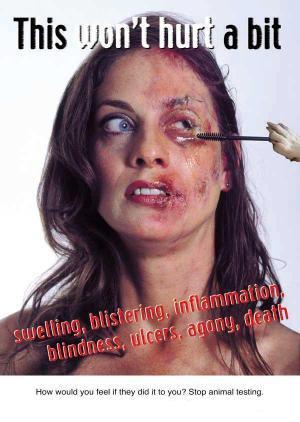 Cómo te sentirías si te lo hicieran a ti? Di no a la cosmética con crueldad.
