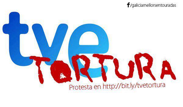 Cartel de Galicia Mellor sen Touradas llamando a la campaña de protestas al ente público